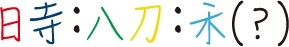 (?)に入る漢字は何?