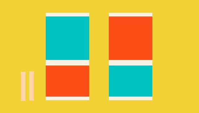 和太鼓型リズム・アクションゲーム。左にある、2つの棒はバチだどん。